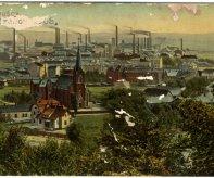 Hrušov – historický pohled z roku 1908