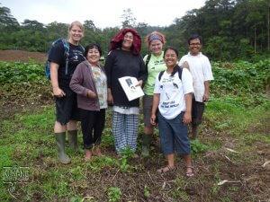 Anti-konfliktní tým spolu s farmáři
