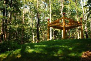 Lesní altán - foto P.Vlček