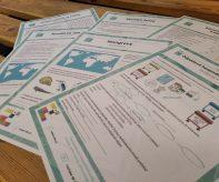 pracovní listy a infokarty